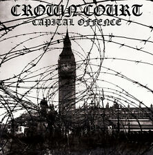 Crown Court - Capital Offence LP ANGELIC UPSTARTS SHAM 69 COMBAT 84 THE BLITZ