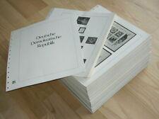 DDR SAFE DUAL VORDRUCKBLÄTTER 1949-1990 KOMPLETT  !!!