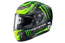 HJC RPHA 11 Pro Crutchlow Street Helmet MONSTER ENGERGY GREEN