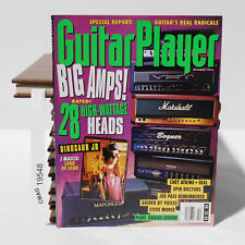 BIG AMPS HEADS DINOSAUR JR J MASCIS CHET ATKINS SEAL GUITAR PLAYER October 1994