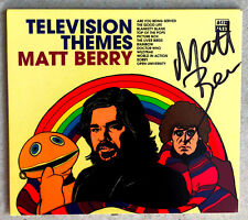 MATT BERRY * TELEVISION THEMES * SIGNED CD ALBUM * BN&M! * RAINBOW * DR WHO