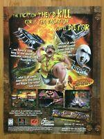 Rogue Trip Vacation 2012 PS1 Playstation 1 1998 Vintage Print Ad/Poster Art Rare
