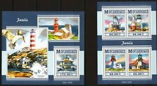 MOZAMBIQUE 2015 FAROIS LIGHTHOUSE MARINA SEA ARCHITECTURE STAMPS MNH**