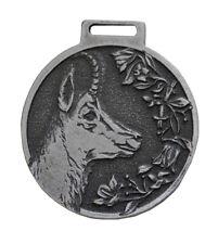 Gams Déco Médaille Médaille Argent Distinction Récompense Chamois Chamois Neuf
