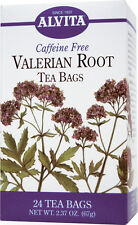 Organic Valerian Root Tea, Alvita,