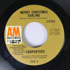 Christmas 45 Carpenters - Merry Christmas Darling / Mr. Guder On A&M Records