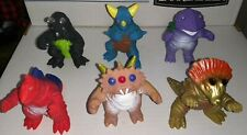 SUPER DINO MONSTER Lot of 6 Vintage Kaiju Ultraman KOs with Box