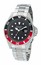DIVER WATCH EICHMUELLER CITIZEN MOVEMENT 200 METERS BLACK/RED NEW