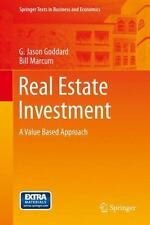 Real Estate Investment: A Value Based Approach (springer Texts In Business An...