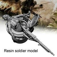 1/24 Resin Figures Fantasy German Female Soldier unpainted YFWW-2082