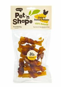 Pet 'n Shape Chik 'n Sweet Potato Natural Dog Treats, 4-Ounce