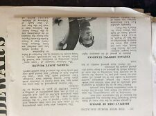 A1v ephemera 1956 article lighthouse keeper archie holbrook isle of wight sea fo