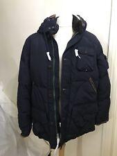 BNWT Polo Ralph Lauren Azul Marino Mohawk Chaqueta De Plumón Hombre Talla L Rrp £ 475