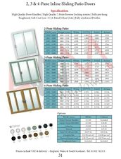 French uPVC Sliding Patio Door Price Book / Fast & Free Delivery (#19)