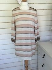 malene birger dress Pink Layered Silk Size EU40 UK 12/14
