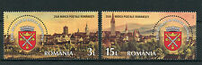 Romania 2016 MNH Stamp Day Sibiu 825 Years 2v Set Architecture Buildings Stamps