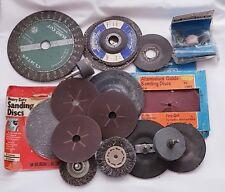 Joblot Various Brand Sized Grit Sander Sanding Discs DIY Tool Woodwork Workshop