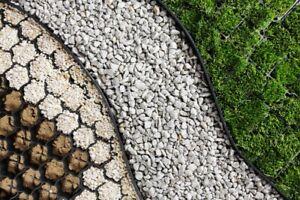 Rasenkanten Beetumrandung Rasenkante Pflastersteine Mähkante Raseneinfassung