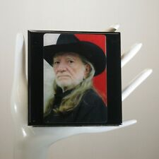 Willie Nelson Limited Edition Collector Card Drink Coaster
