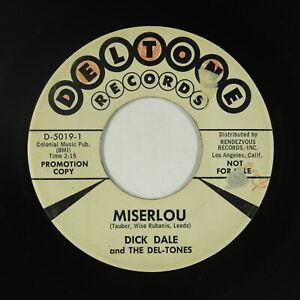 Surf 45 - Dick Dale & The Del-Tones - Miserlou - Deltone - mp3