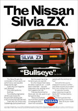 NISSAN SILVIA TURBO ZX RETRO A3 POSTER PRINT FROM CLASSIC 80'S ADVERT