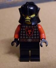 Lego Ritter Figur King's Knight schwarz rot m. Helm - Ritterburg Burg Castle Neu
