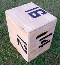Plyo, jump, Crossfit, plyometric box 16 X 14 X 12 (Functional Fitness)