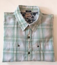Tommy Hilfiger Heritage Green/White Plaid Shirt Excellent Condition Size M
