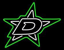 "New Dallas Stars Lamp Neon Light Sign 24""x20"" Beer Bar Man Cave Glass Artwork"