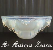 Antik Art Deco Ezan Lampenschale Glasschirm Opaline Kronleuchter Ersatzschale