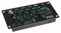 DJ PA Mixer 4 Kanal Mischpult USB MP3 Player Bluetooth Cue Recording Stereo Mic