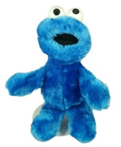 "Vintage Cookie Monster 13"" Plush Stuffed Animal Applause Soft Toy 1992"