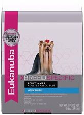 EUKANUBA Breed Specific Adult Yorkshire Terrier Dog Food 10 Pounds