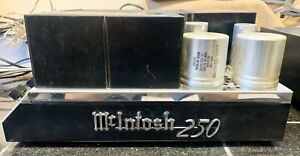 McIntosh MC250 Vintage Stereo Power Amplifier Solid State; Tested