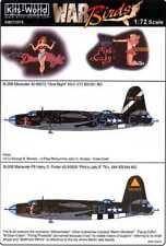 Kits World Decals 1/72 MARTIN B-26 MARAUDER Dina Might & Pink's Lady II