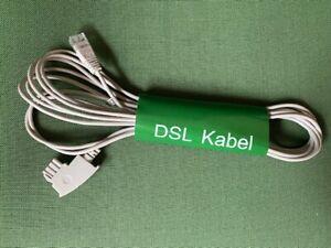 Original AVM Fritzbox DSL IP Kabel VoiP 4 Meter NEU