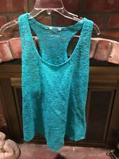 Maurices Women's Summer Turquoise Tank Top/Coverup  Size XXL
