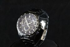 Citizen Eco-Drive AT4007-54E Perpetual RC Chronograph A-T Black Stainless Watch