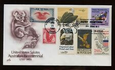 SPECIAL SALE US First Day COMBO Cover (Australia BiCent.) 1988 Washington DC