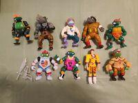 Vintage TMNT Teenage Mutant Ninja Turtles Lot