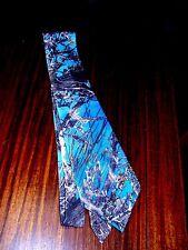 Men's/Boys Camouflage Tie, Camo, Blue MC2True Timber Twill,Sportsman/wedding/