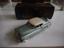 Brooklin Models 1953 Buick Skylark Convertible in Green/White on 1:43 in Box