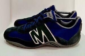 Merrell Men's Sprint Blast Hiker Trail Shoes Suede Textile Size 9 UK