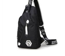 Crossbody Bags Men Women Traveling Casual Chest Bag Waterproof Single Strap New
