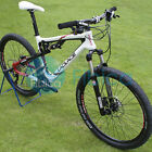 New Laplace Carbon Mountain Full Suspension Bike 26er 30s Rockshox Shimano FSA