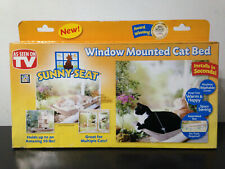Window Mounted Cat Bed Kitten Pet Sunny Seat Resting Seat Space Saving Cat Bed