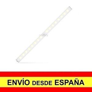 Lámpara 20 LED Sensor Luz y Movimiento PIR Luz Noche Armario a3280