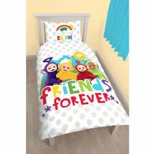 Teletubbies Playtime Single Panel Duvet Quilt Cover Set Childrens Bedroom Kids