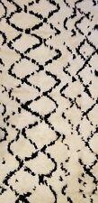 Marvelous Moroccan - Vintage Beni Qurain Design - Tribal Rug - 8.4 x 9.11 ft.
