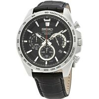 Seiko Neo Sport SSB305P1 Men Black Watch